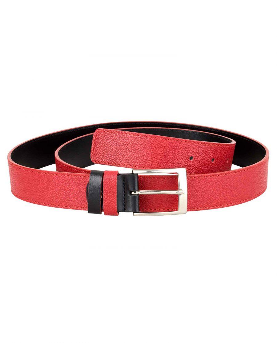 Red-Black-Reversible-Belt-First-image