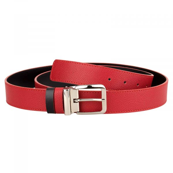 Red-Leather-Belt-Italian-Buckle-Main-picture