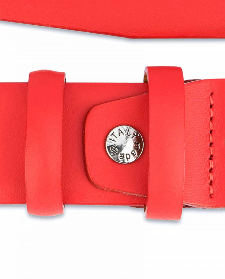 Red-Leather-Belt-Vegetable-Tanned-Screw-Made-in-Italy