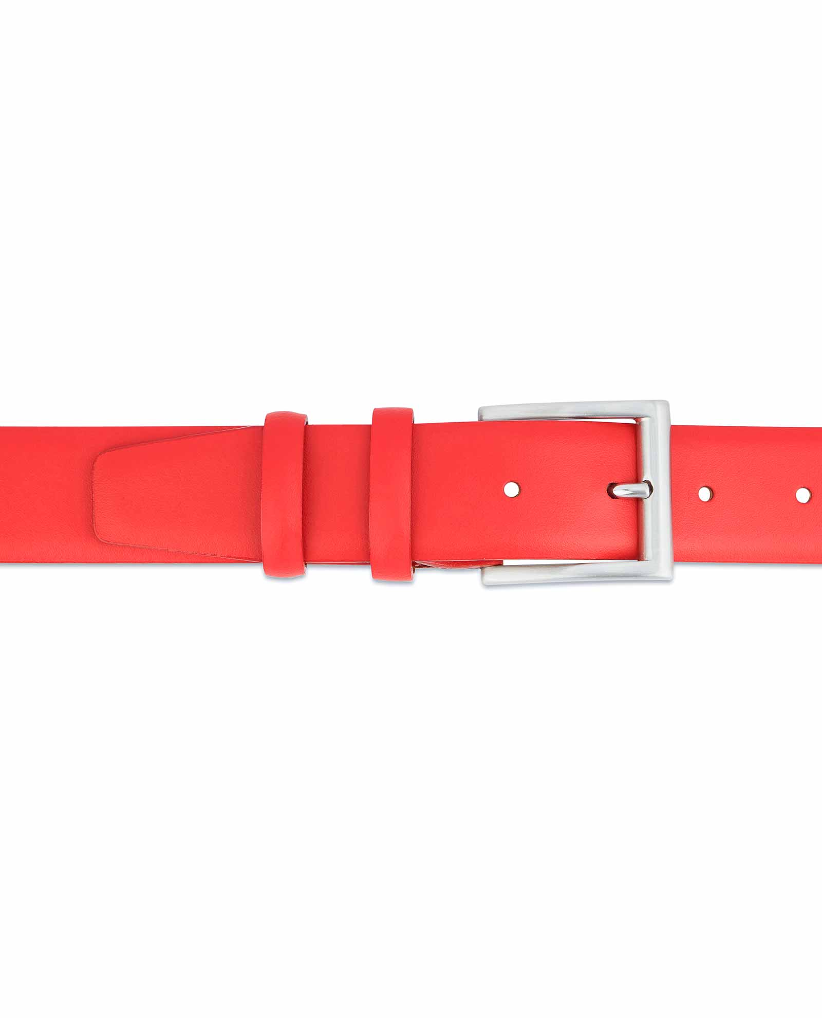 Red-Leather-Belt-Vegetable-Tanned-Veg-tan
