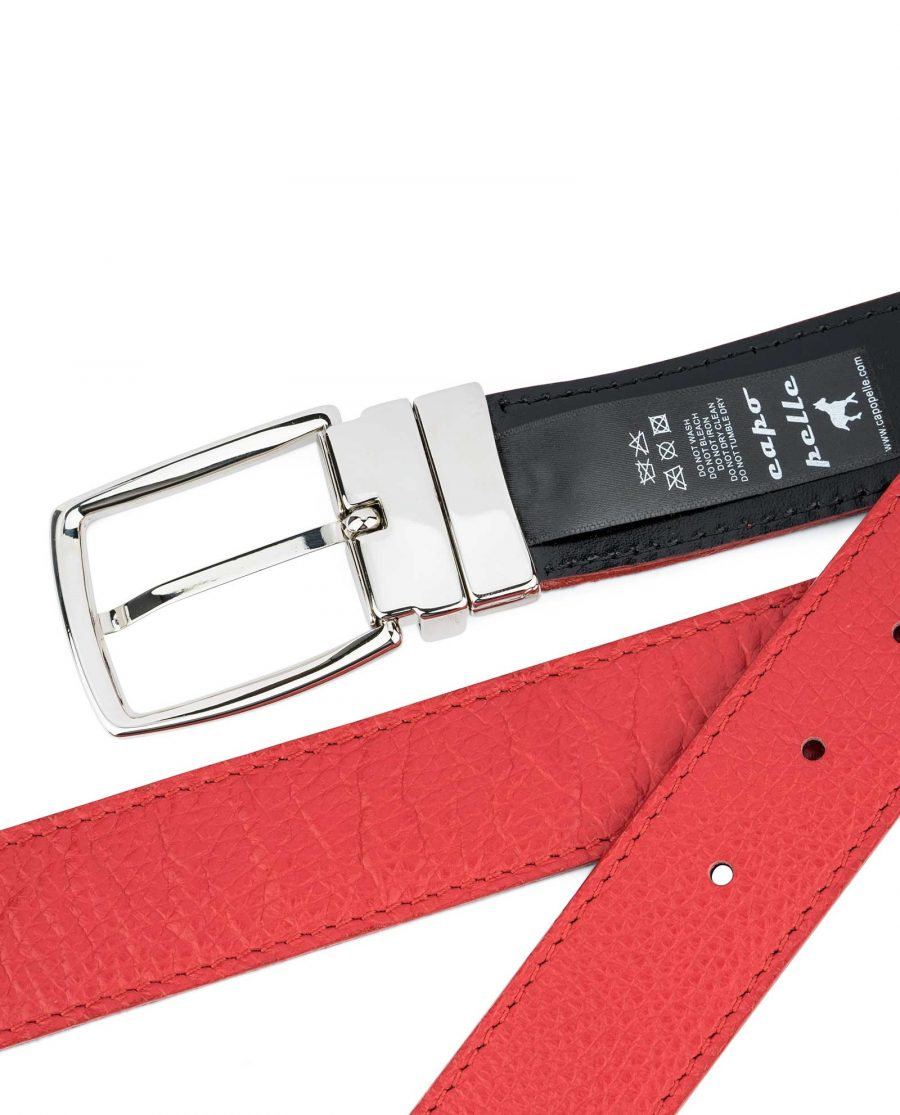 Red-Reversible-Belt-with-Twist-Buckle-Back-side