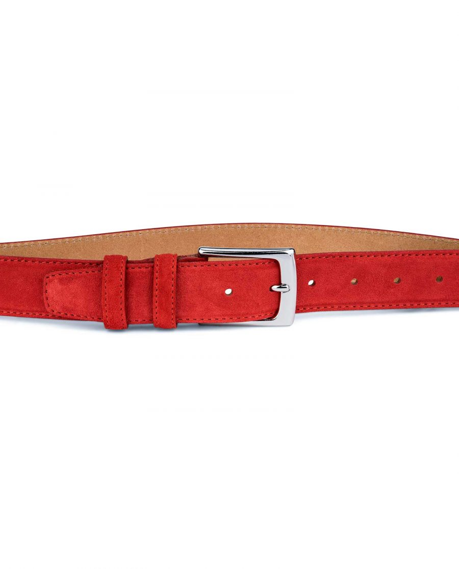 Red-Suede-Belt-by-Capo-Pelle-On-pants
