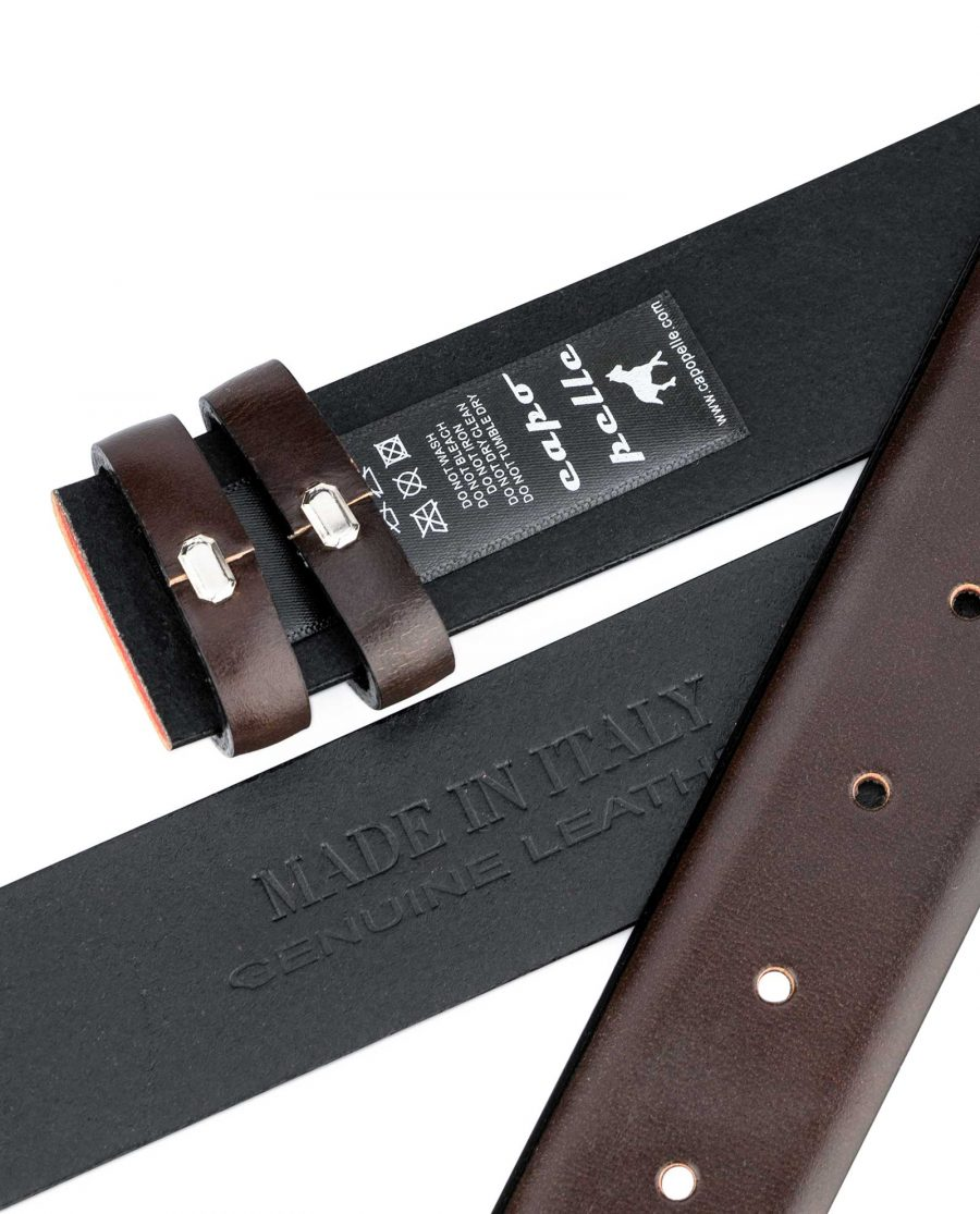 Replacement-Brown-Vegetable-Tanned-Leather-Belt-Heat-Stamp