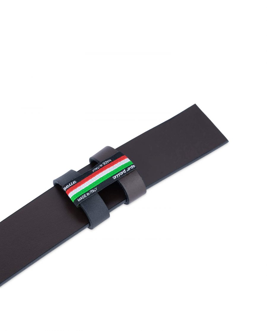 Replacement Reversible Belt Strap Black Brown 1