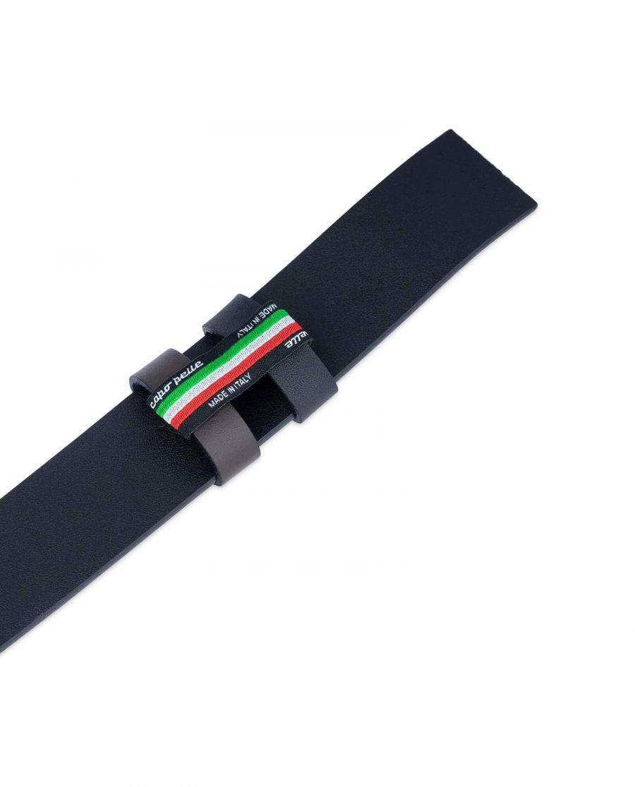 Replacement Reversible Belt Strap Black Brown 4