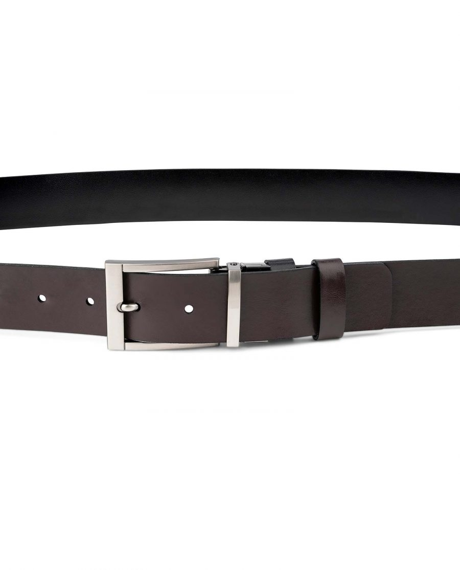 Reversible-Belt-Black-to-Brown-1-3-8-inch-Italian-Leather-by-Capo-Pelle-Brown-side
