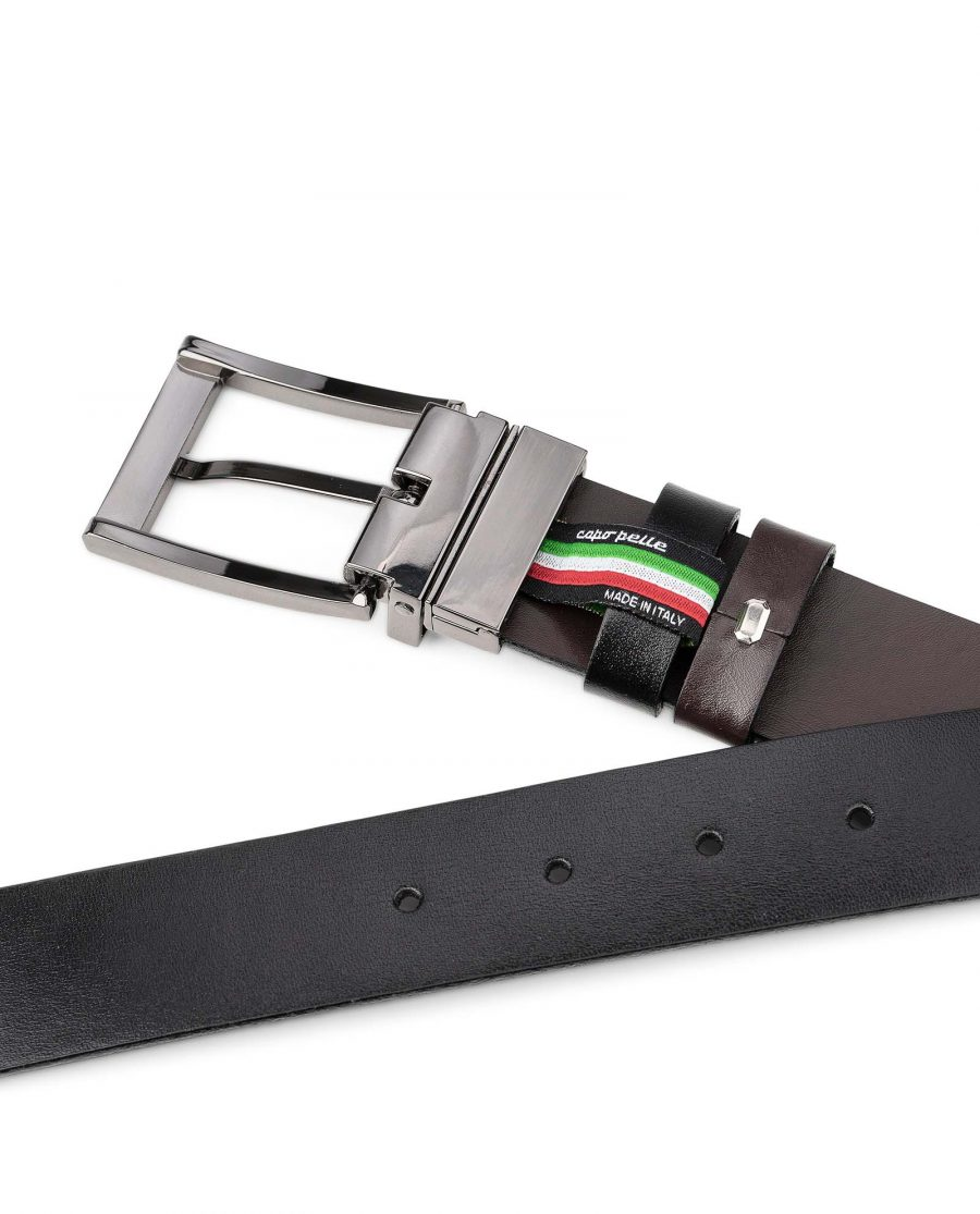 Reversible-Belt-Black-to-Brown-1-3-8-inch-Italian-Leather-by-Capo-Pelle-Holes