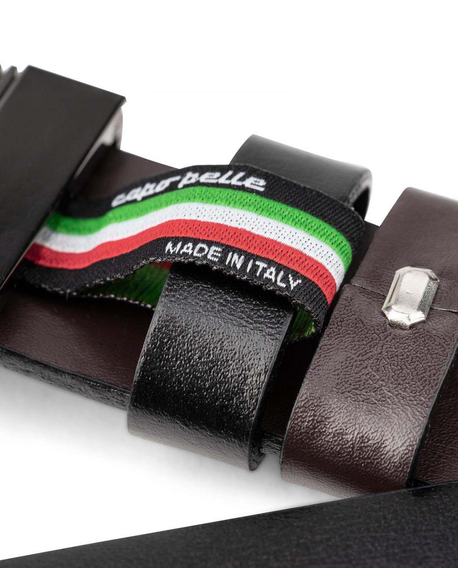 Reversible-Belt-Black-to-Brown-1-3-8-inch-Italian-Leather-by-Capo-Pelle-belt-holder