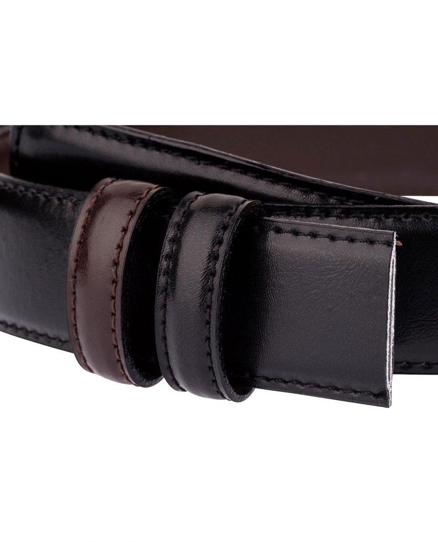 Reversible-Belt-Strap-Black-Brown-Buckle-attach