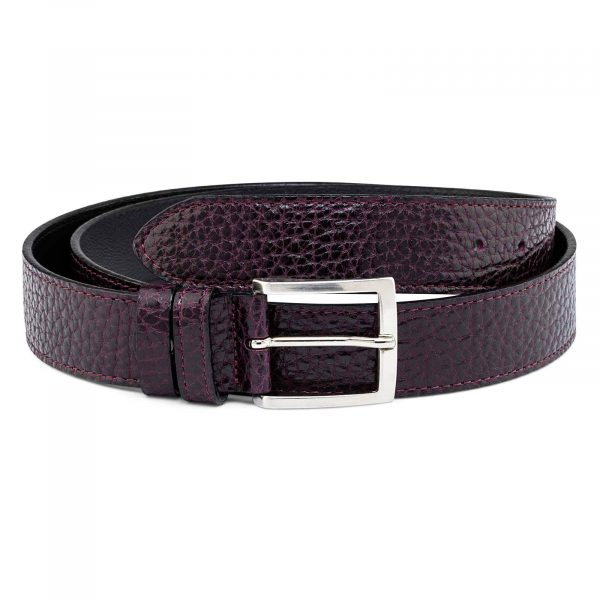 Reversible-Burgundy-Belt-Main-picture