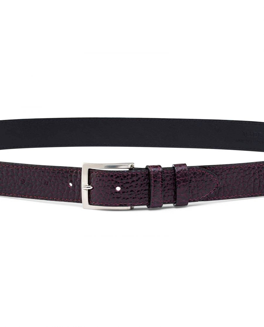 Reversible-Burgundy-Belt-On-pants