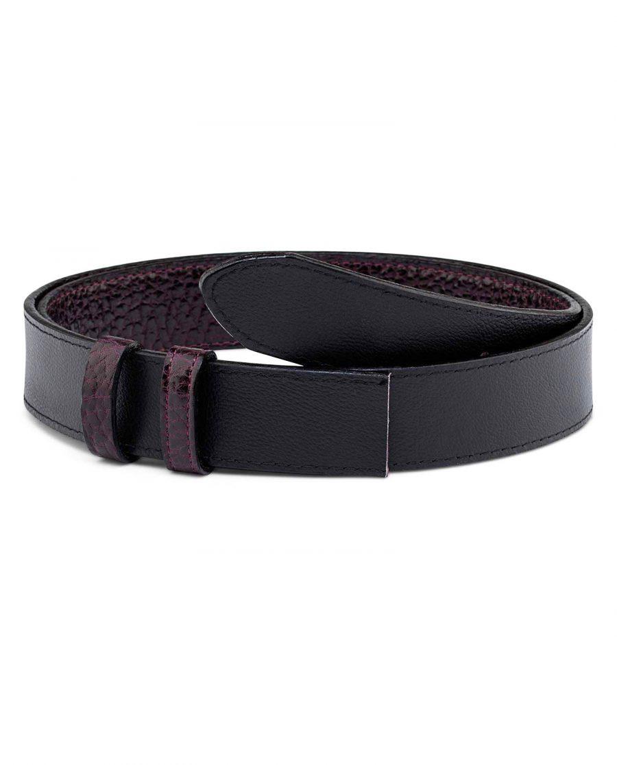 Reversible-Burgundy-Belt-Strap-35-mm-Main-picture-Black-side-1
