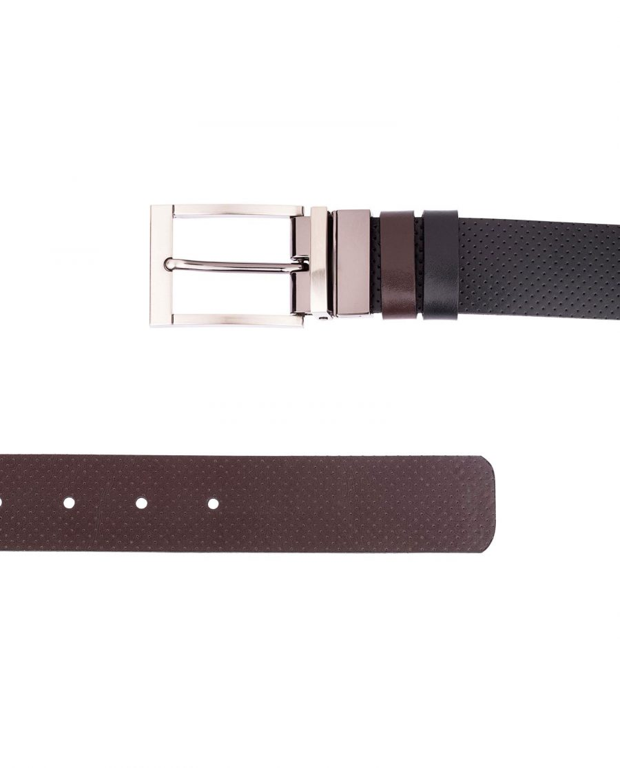 Reversible-Leather-Belt-Perforated-Both-ends