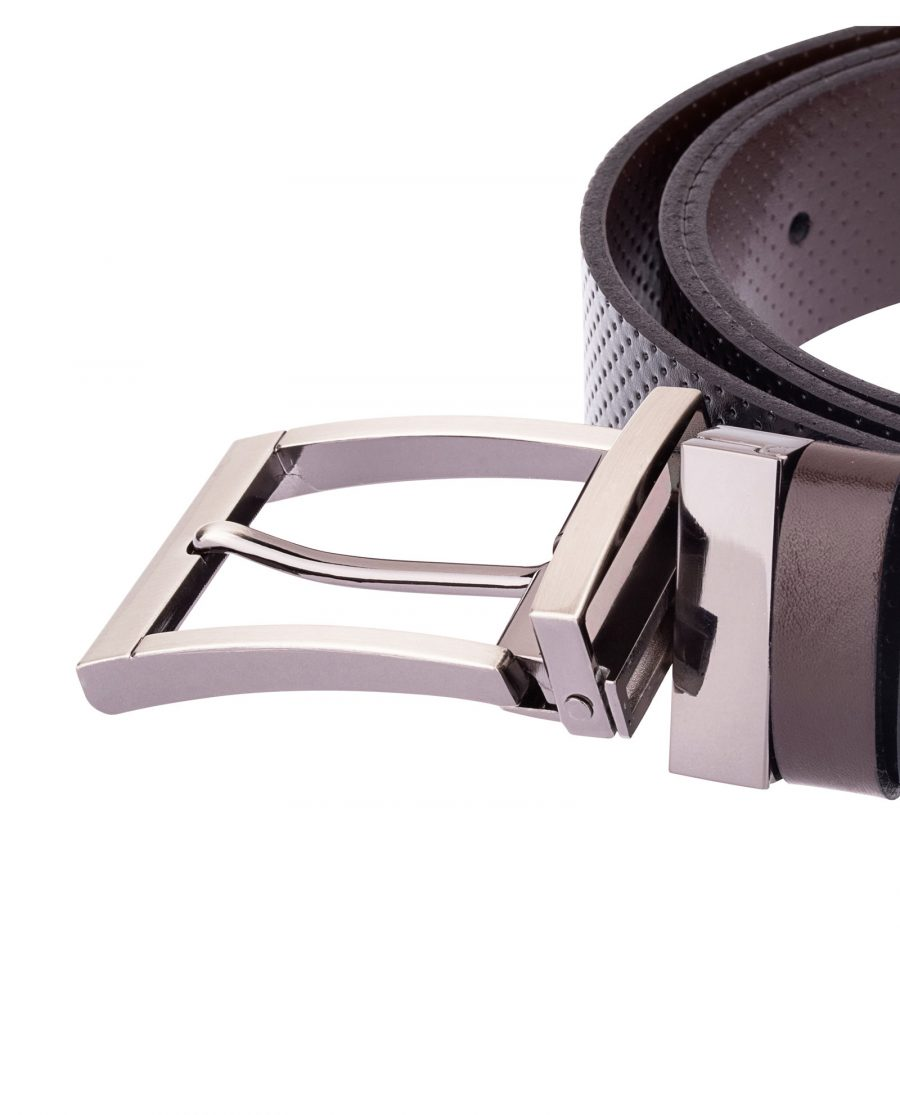 Reversible-Leather-Belt-Perforated-Buckle-attach