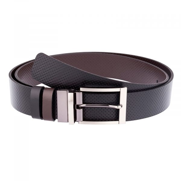 Reversible-Leather-Belt-Perforated-First-picture