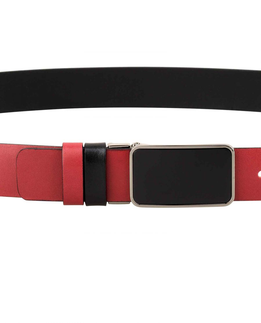 Reversible-Mens-Red-Belt-On-pants