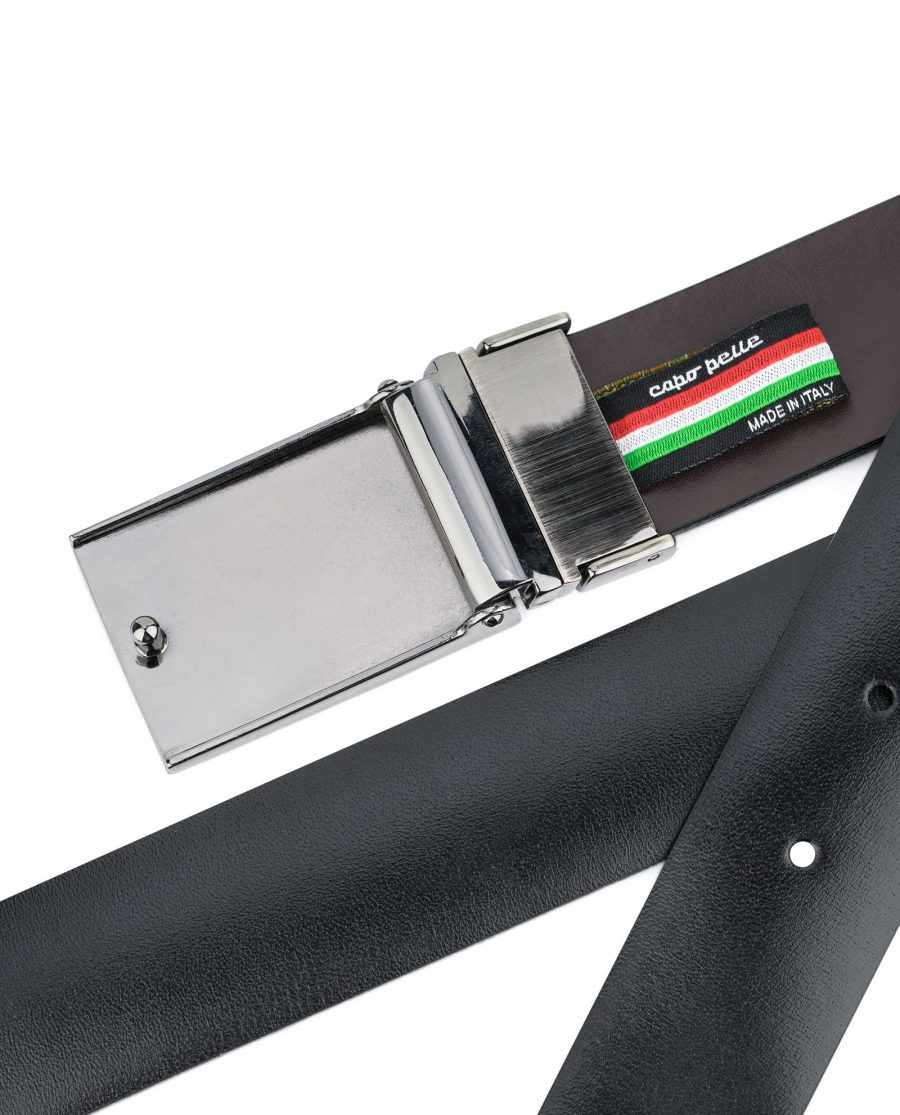 Reversible-Swivel-Buckle-Belt-Mens-leather-Back-side