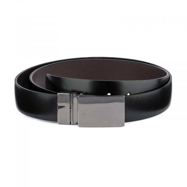Reversible-Swivel-Buckle-Belt-Mens-leather-Main-picture