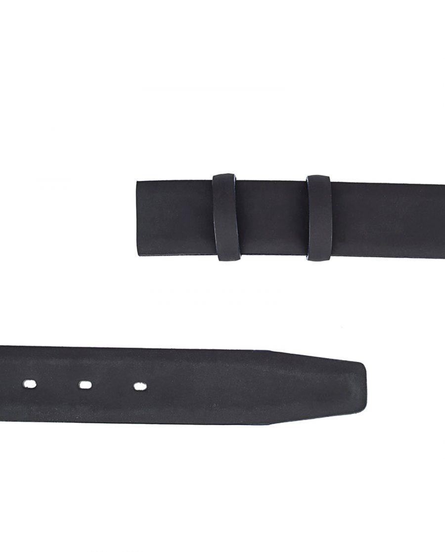 Rubber-Coated-Belt-Strap-Navy-Edges-Both-Sides