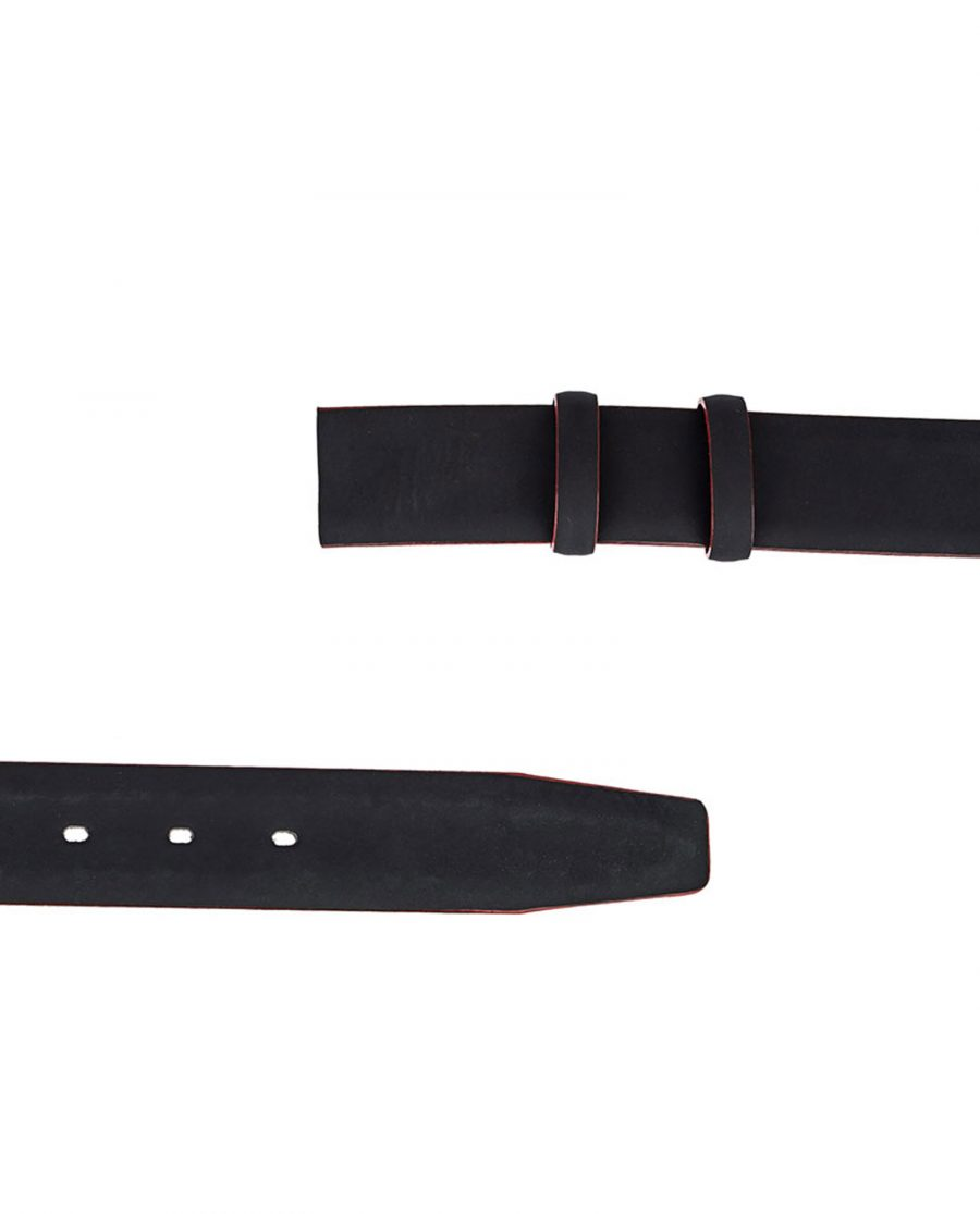Rubber-Coated-Belt-Strap-Red-Edges-Both-Sides