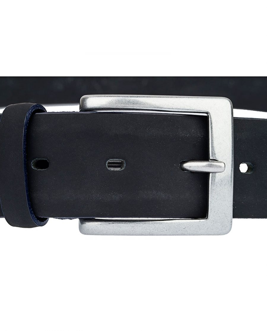 Rubber-Coated-Belt-With-Navy-Edges-Buckle