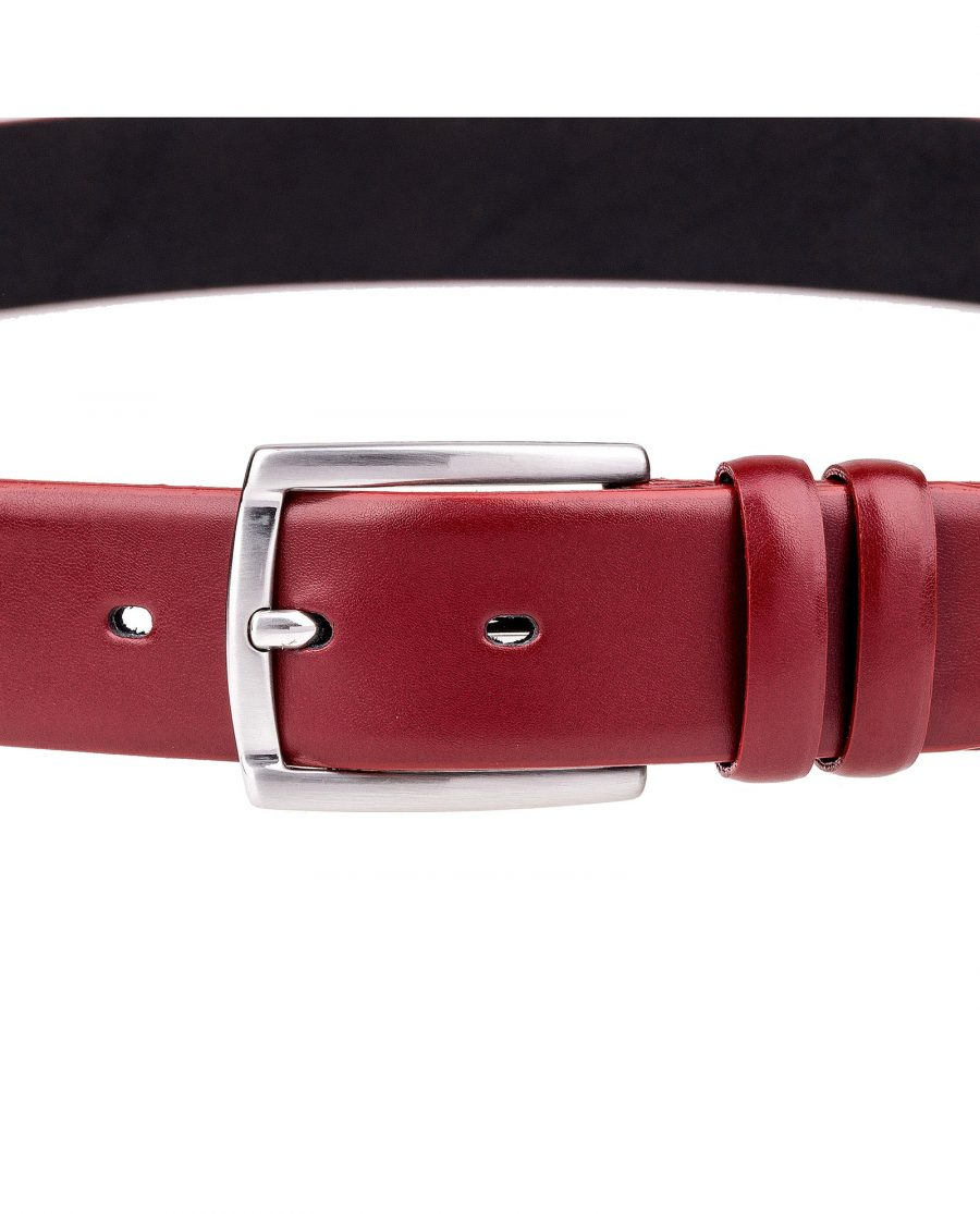 Ruby-Red-Leather-Belt-On-pants