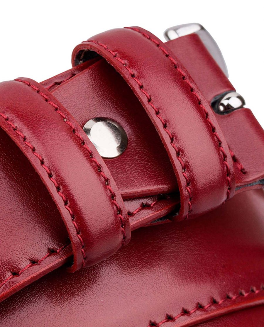 Ruby-Red-Threaded-Leather-Belt-Buckle