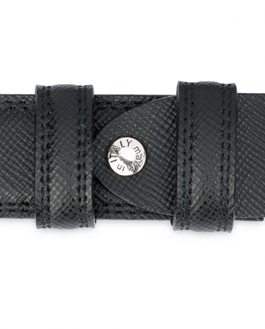 Saffiano-Black-Leather-Belt-Mens-Dress-Screw