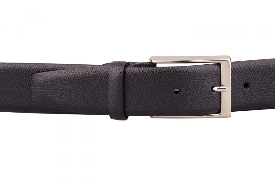 Saffiano-Classic-Leather-Belt-On-trousers