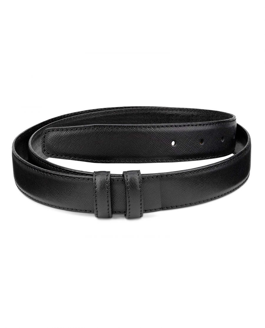 Saffiano-Leather-30-mm-Replacement-Belt-Strap-by-Capo-Pelle-Main-picture