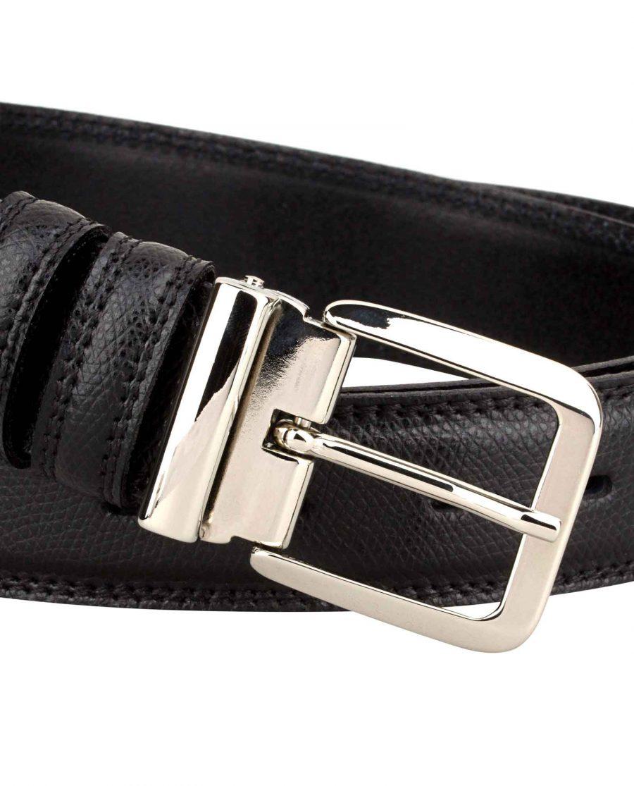 Saffiano-Leather-Belt-Italian-Buckle-Buckle-zoom