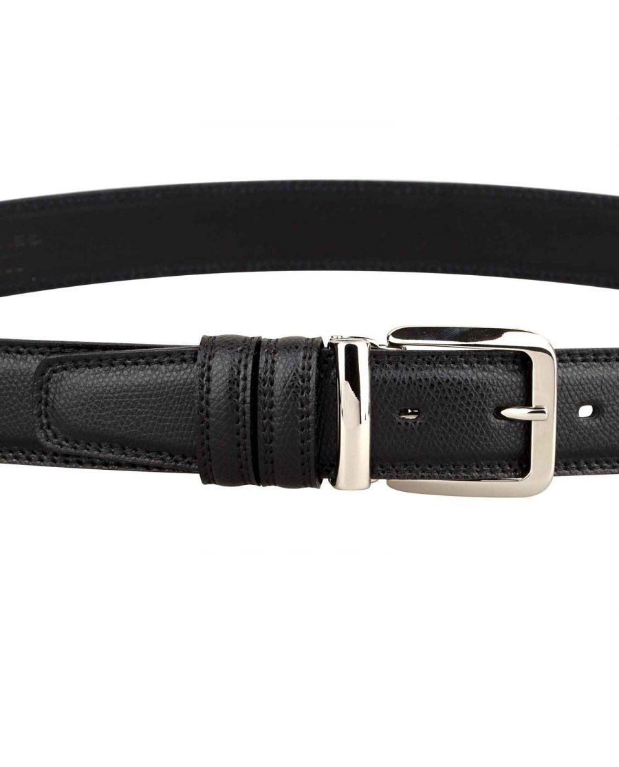 Saffiano-Leather-Belt-Italian-Buckle-On-pants