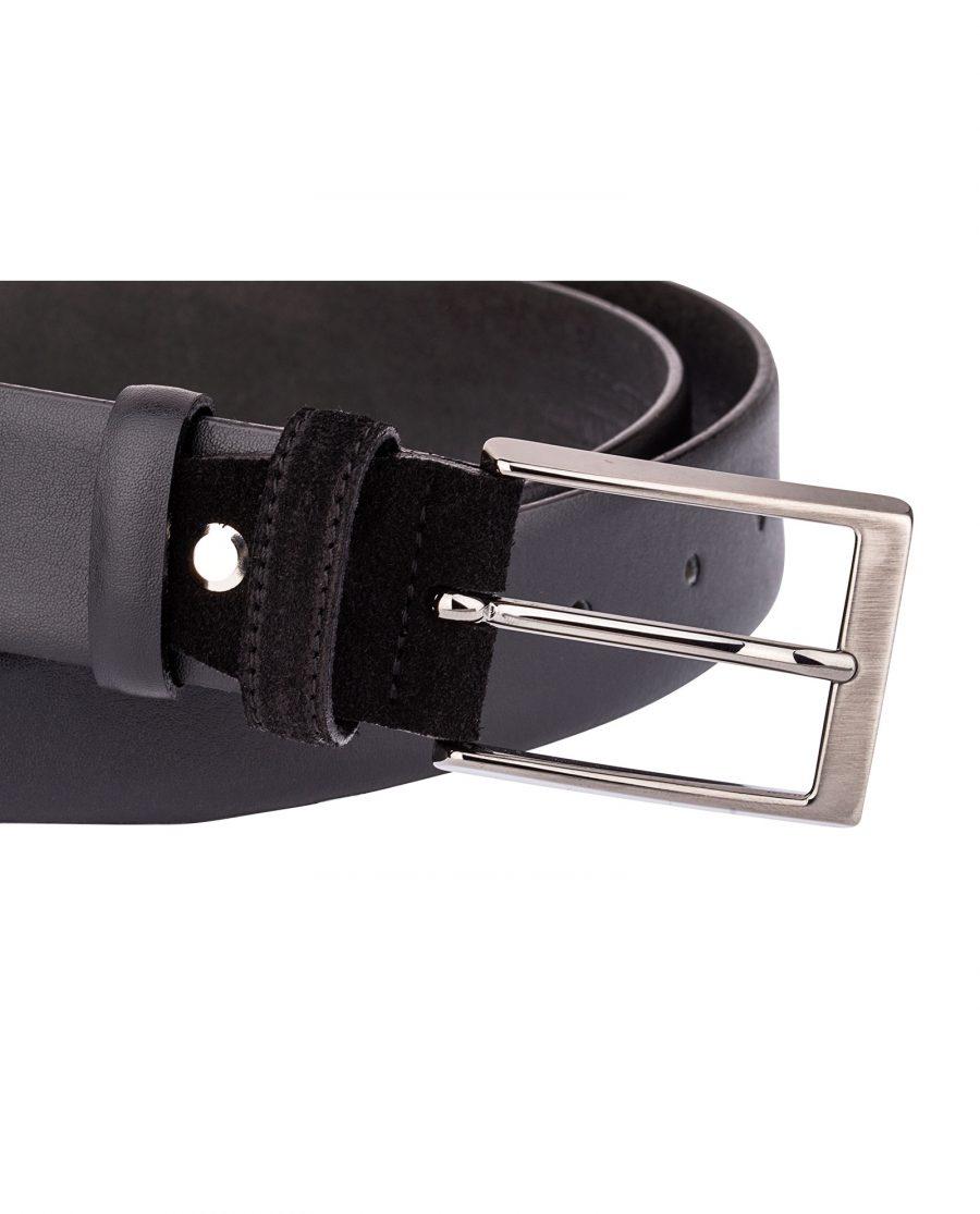 Smooth-Belt-Suede-buckle-Close-image