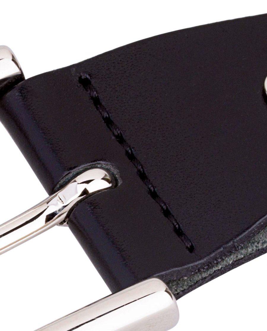 Smooth-Black-Belt-Buckle-Zoom-image