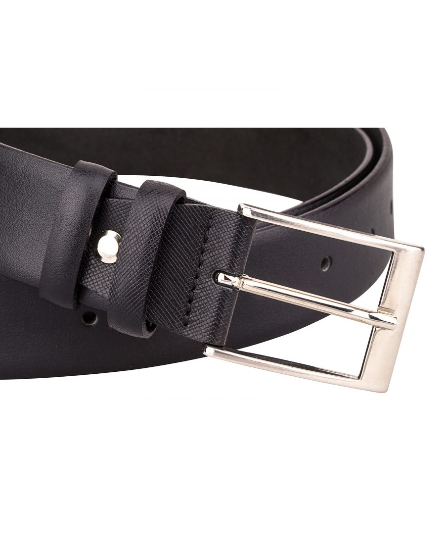Smooth-Saffiano-Leather-Belt-Buckle-picture