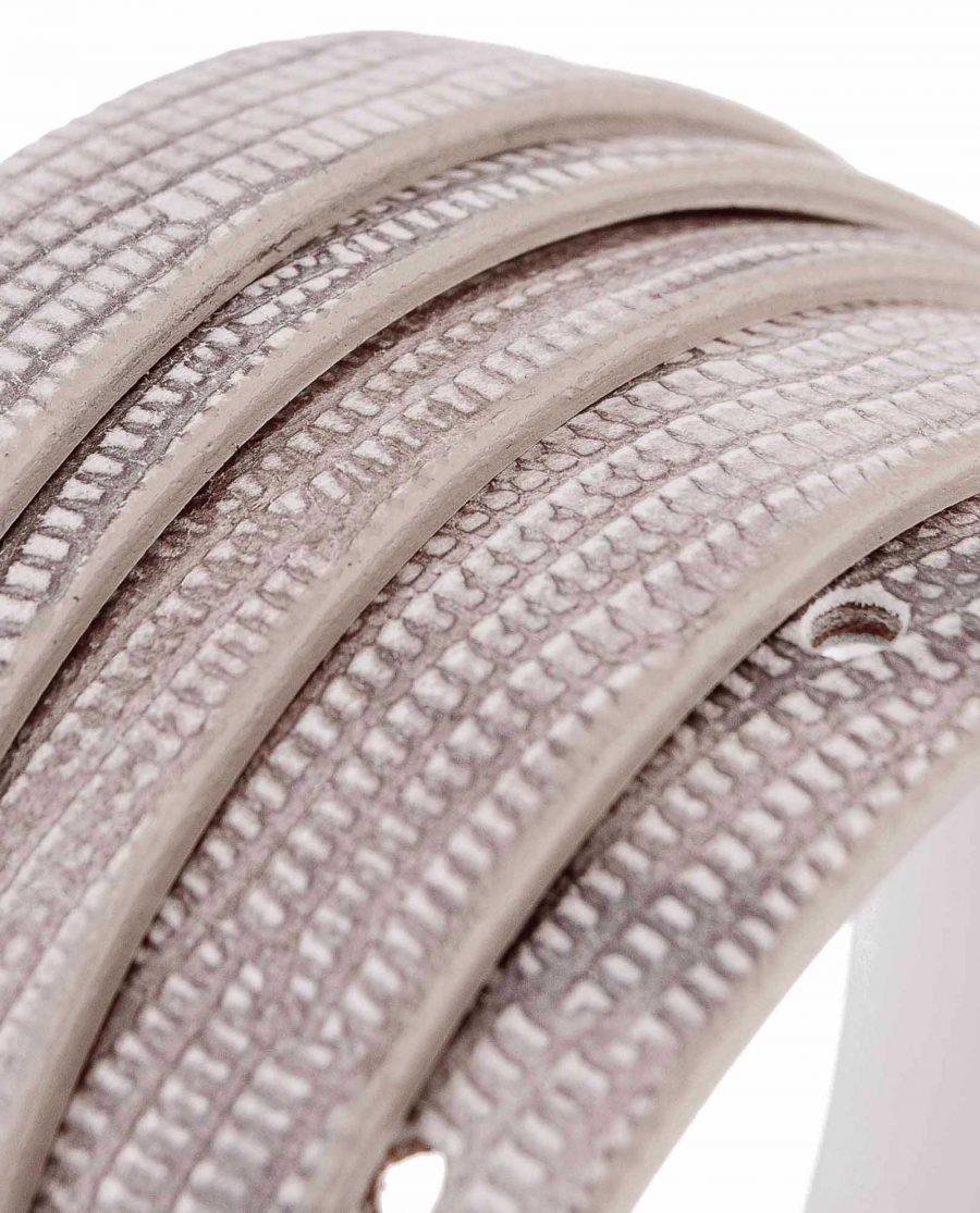 Snake-Skinny-Belt-Gray-Rolled-strap