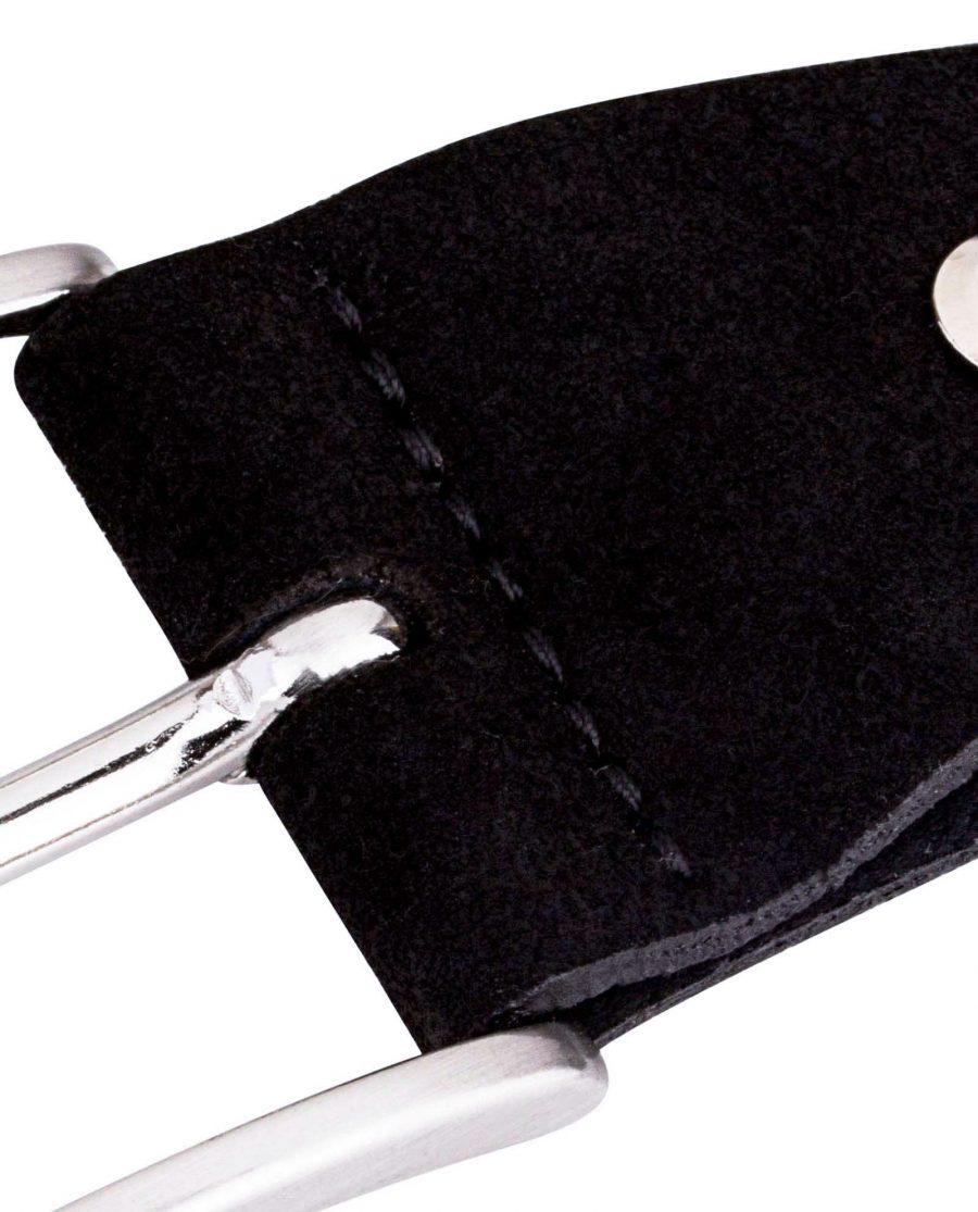 Suede-Black-Belt-Buckle-Zoom-picture