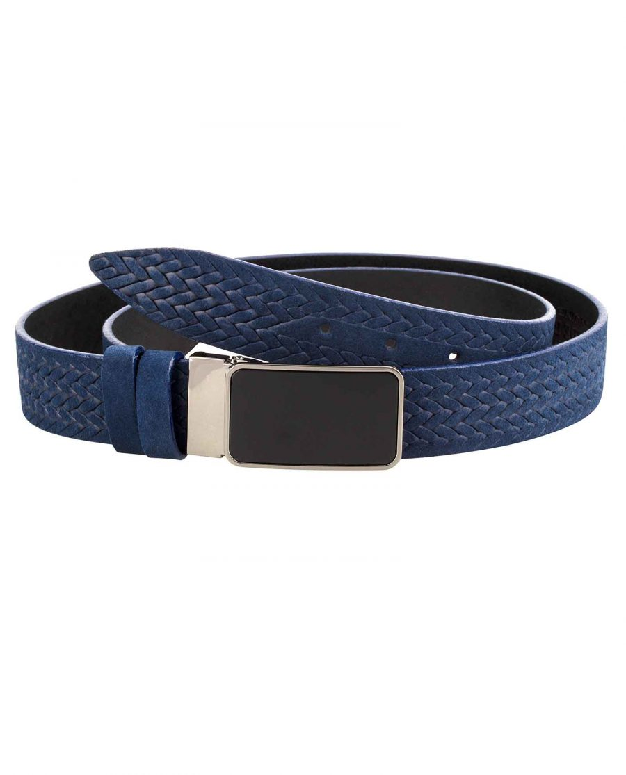 Suede-Mens-Braided-Belt-Main-image
