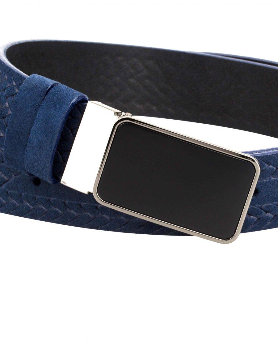 Suede-Mens-Braided-Belt-Zoom-in-image