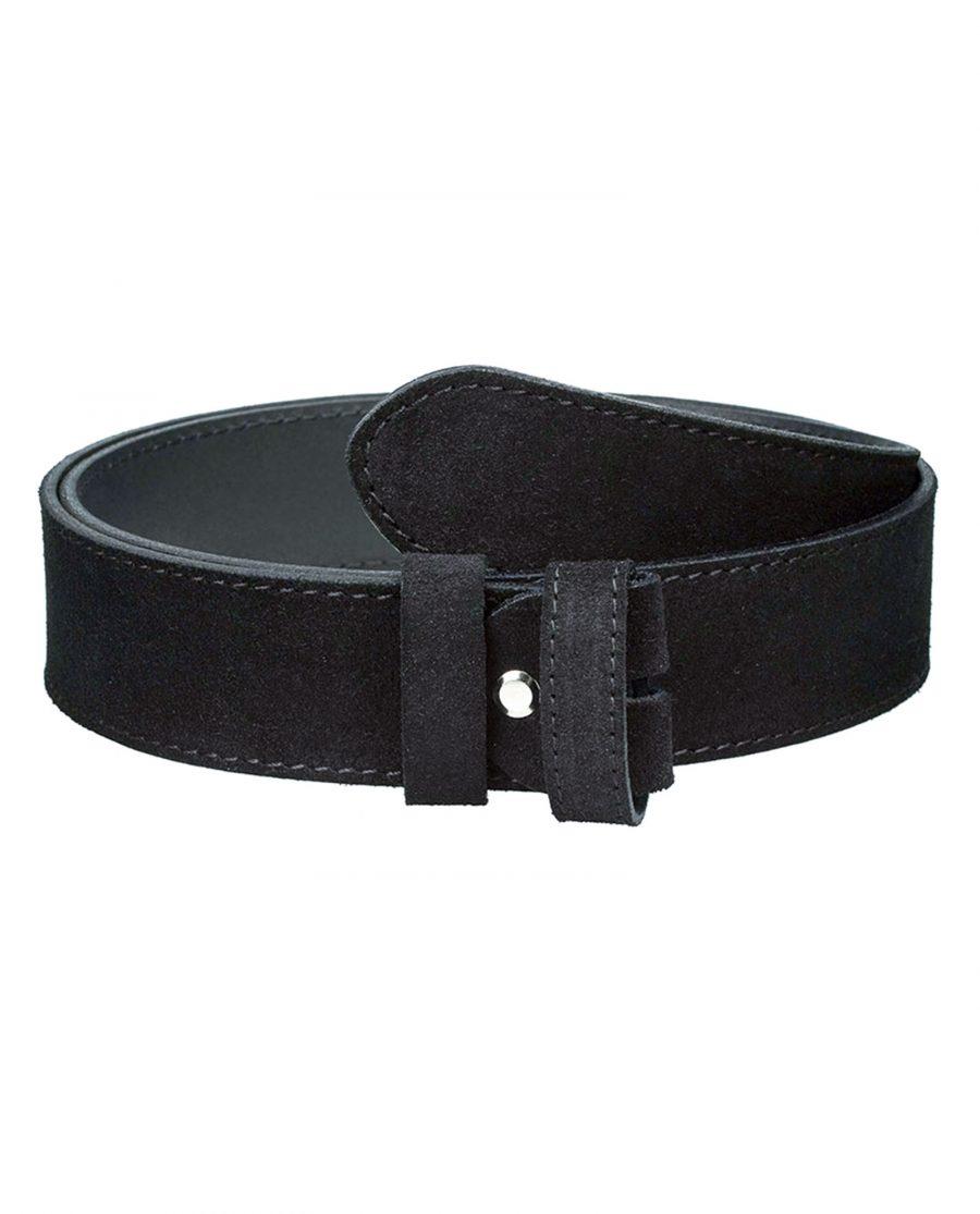 Suede-belt-strap-wide-black