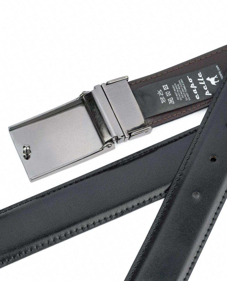 Swivel-Buckle-Two-Sided-Leather-Belt-Capo-Pelle-Back-side