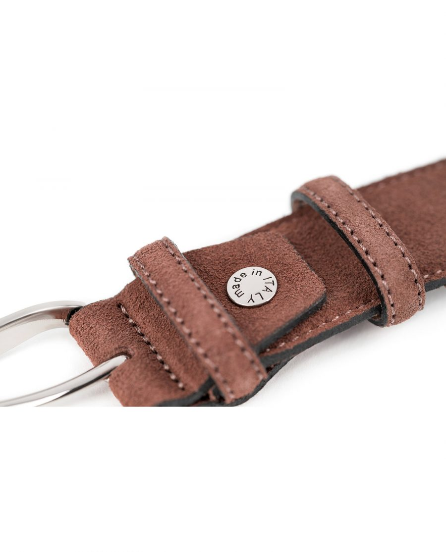 Tan-Suede-Belt-by-Capo-Pelle-Cognac-brown-Italian-Calf-Leather-Made-in-Italy-screw