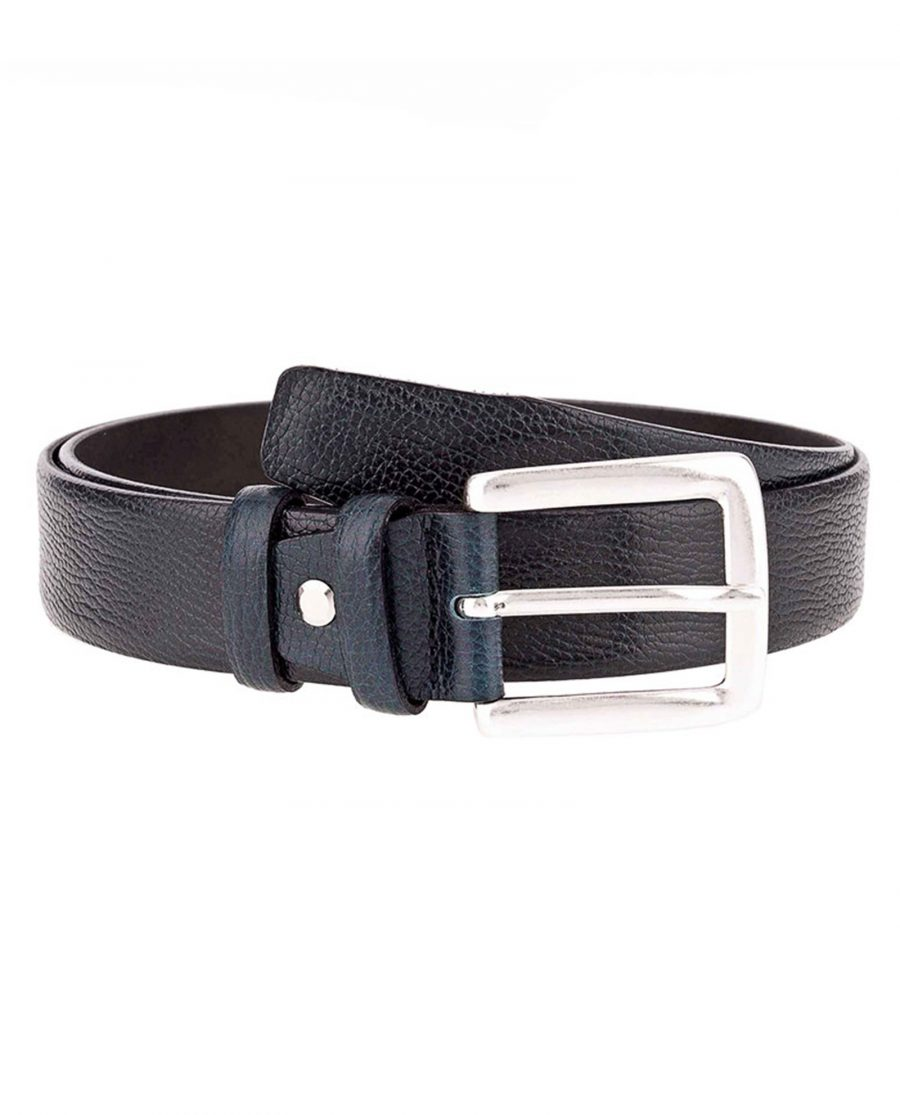 Teal-jeans-belt