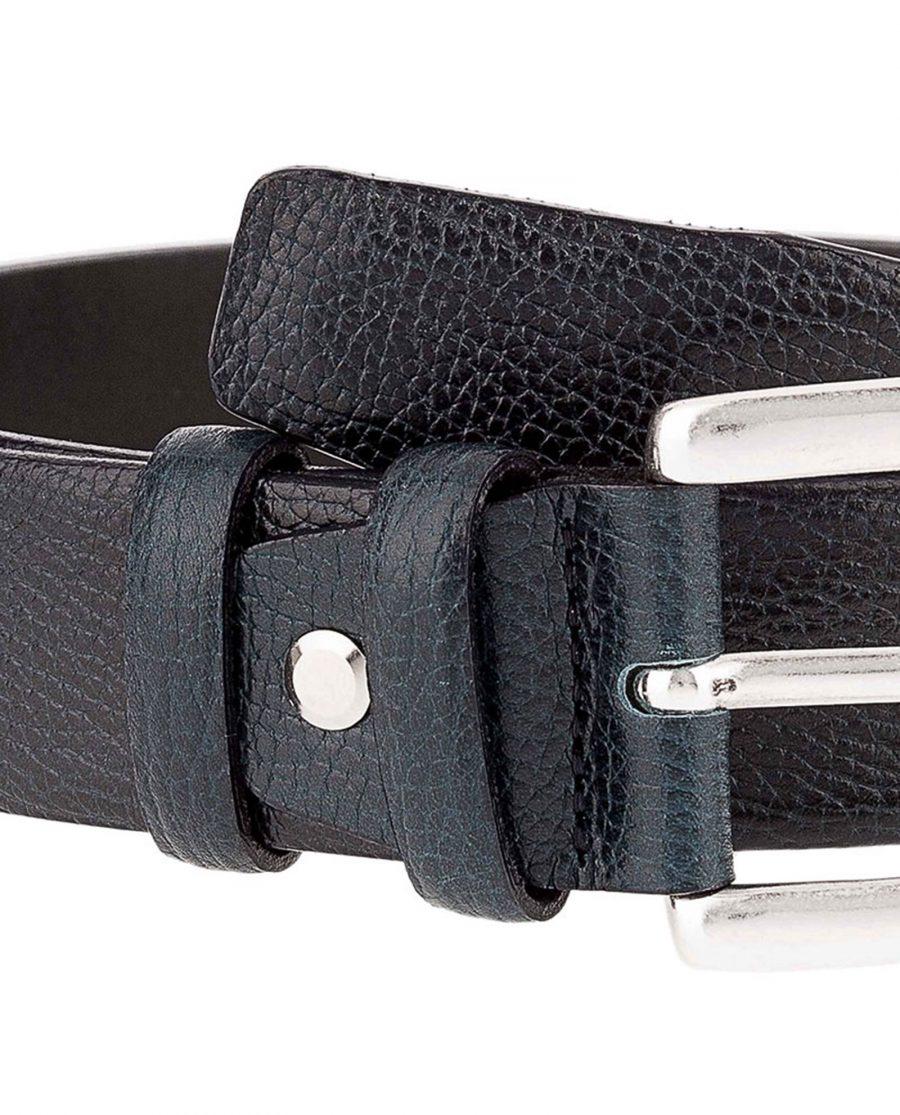 Teal-jeans-belt-buckle