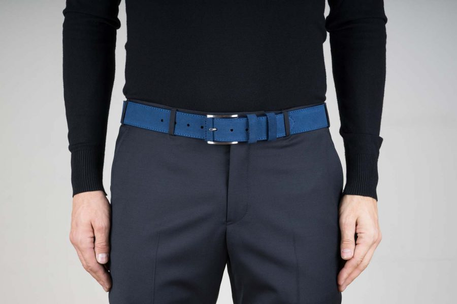 Thick-Belt-in-Blue-Suede-Live-on-Pants