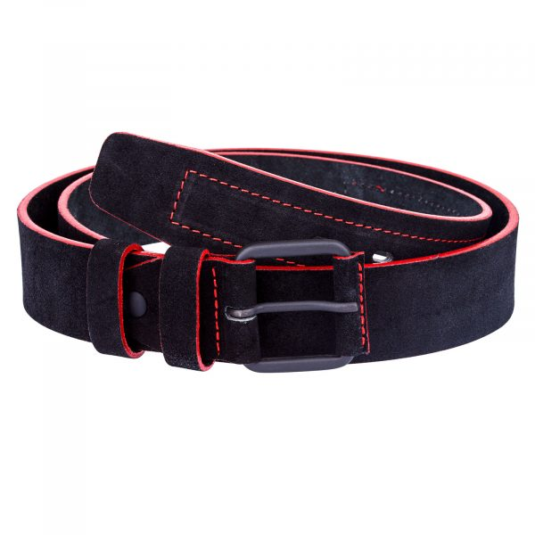 Thick-Black-Suede-Belt-First-image