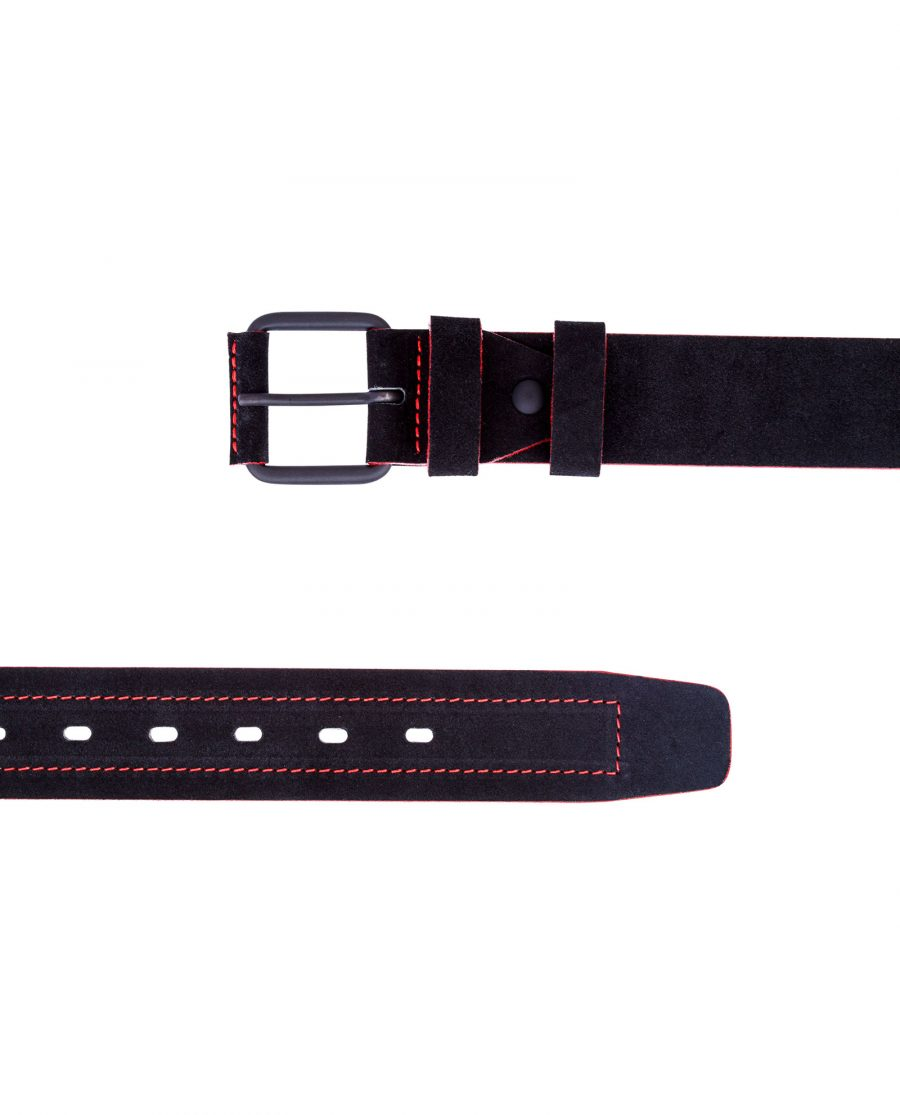Thick-Black-Suede-Belt-View-from-top
