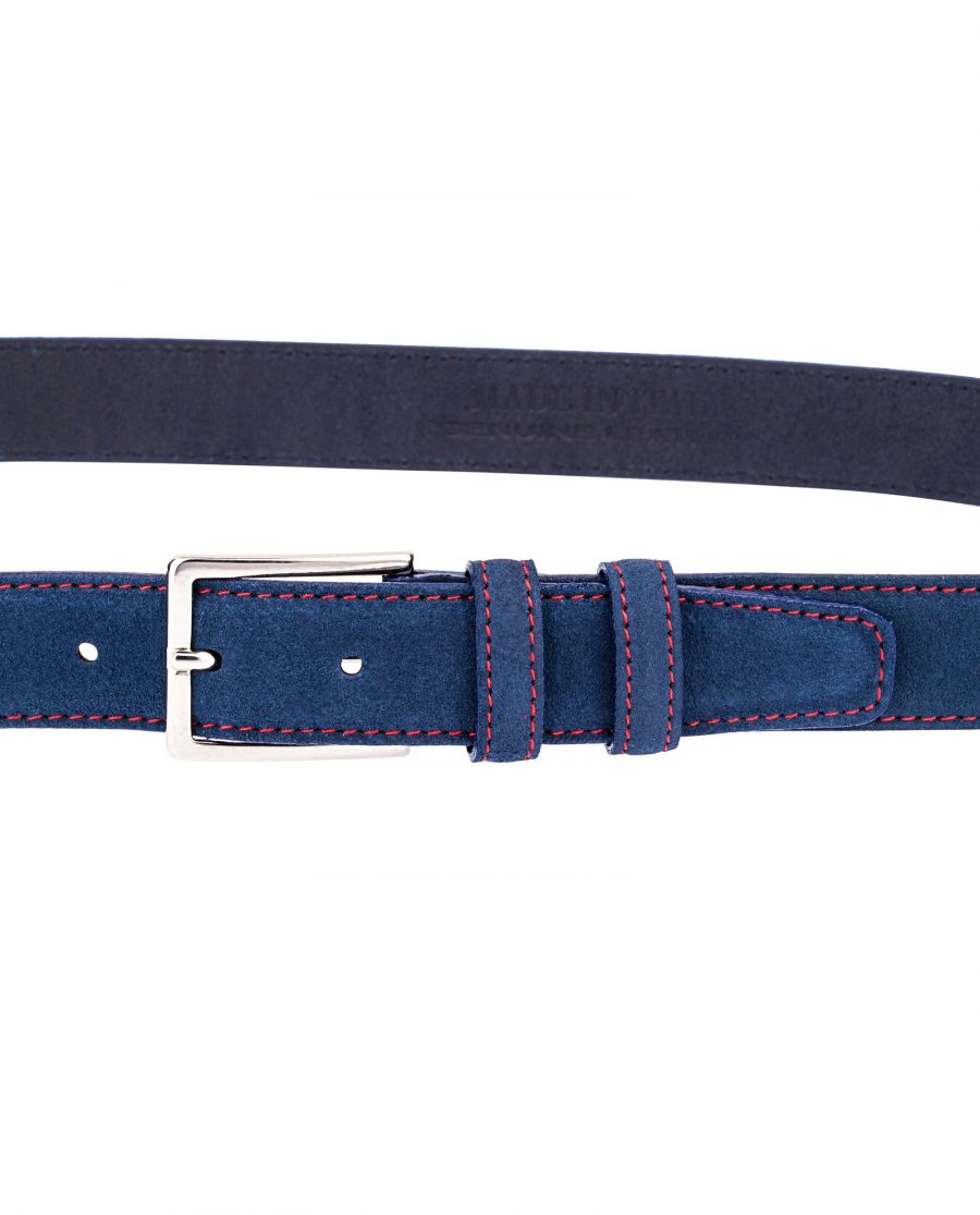 Thin-Blue-Suede-Belt-On-pants