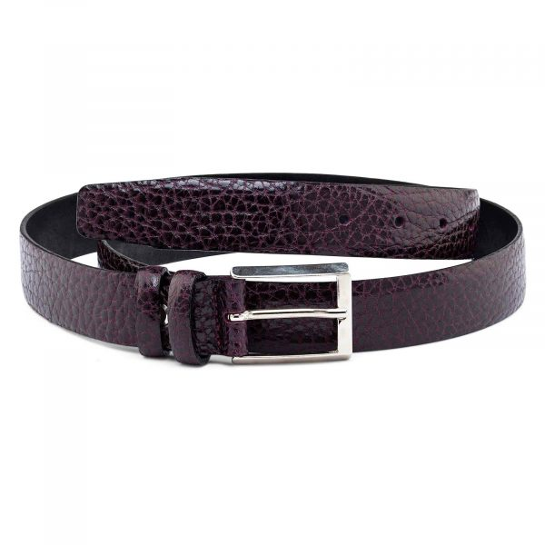 Thin-Burgundy-Purple-Belt-30-mm-First-picture