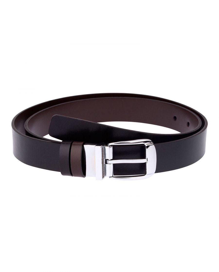 Thin-Reversible-Belt-Black-Brown-Front-image